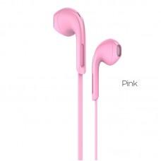 Наушники hoco M39 Rhyme - Розовый