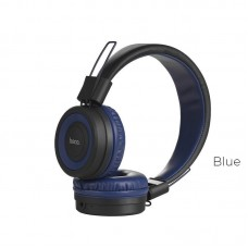 Наушники hoco W16 Cool motion Bluetooth - Синий