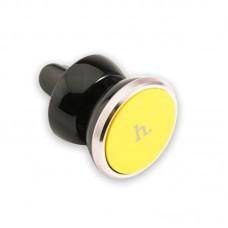 Автодержатель для телефона hoco CA3 Outlet - Желтый