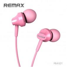 Наушники Remax RM-501 - Розовый