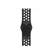 Ремешок Спортивный Apple Watch 38/40mm - Черно/Белый