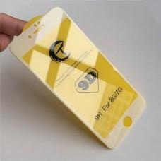 Защитное стекло 9D для Iphone 6/6S - Белое