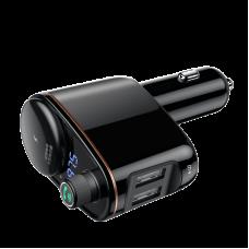 Автомобильно зарядное устройство Baseus Locomotive Bluetooth MP3 Vehicle Charger (CCALL-RH01) - Черный