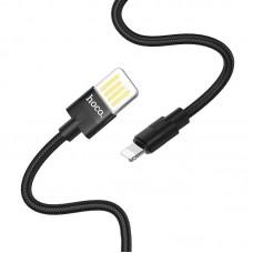 Кабель hoco U55 Outstanding charging data cable for Lightning - Черный