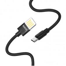 Кабель hoco U55 Outstanding charging data cable for Type-C - Черный