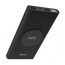 Power Bank hoco J37 Wisdom wireless charging mobile (10000mAh) - Черный