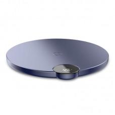 Беспроводная зарядка с дисплеем Baseus Digtal LED Display Wireless Charger (WXSX-03) - Синяя