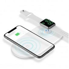 Беспроводное зарядное устройство (WX2IN1-02) Baseus Smart 2 in 1