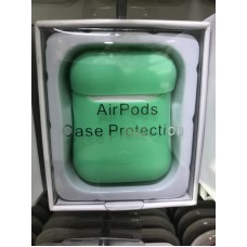 Чехол силиконовый new для AirPods - Зеленый