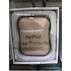 Чехол силиконовый new для AirPods - Пудра