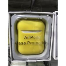 Чехол силиконовый new для AirPods - Желтый