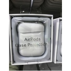 Чехол силиконовый new для AirPods - Белый