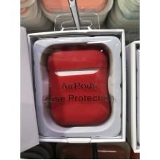 Чехол силиконовый new для AirPods - Красный