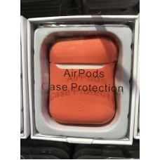 Чехол силиконовый new для AirPods - Персиковый