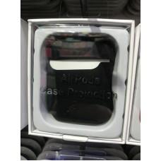 Чехол силиконовый new для AirPods - Черный