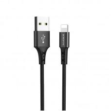 Кабель BX20 Enjoy charging data cable for Lightning - Черный