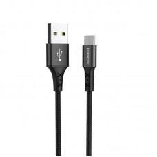 Кабель Borofone BX20 Enjoy charging data cable for Micro - Черный