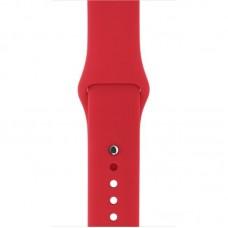 Ремешок Силиконовый Apple Watch 38/40mm - Красный