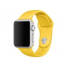 Ремешок Силиконовый Apple Watch 42/44mm - Желтый