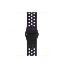 Ремешок Спортивный Apple Watch 42/44mm - Черно/Фиолетовый