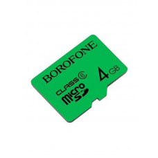 Карта памяти Borofone micro-SD - 4GB