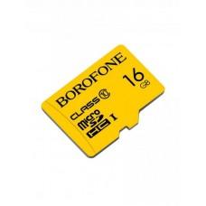 Карта памяти Borofone micro-SD - 16GB