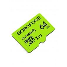 Карта памяти Borofone micro-SD - 64GB
