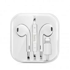 Наушники hoco L9 Original series Lightning call digital headset - White