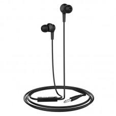Наушники hoco M50 Daintiness universal earphones with mic - Black