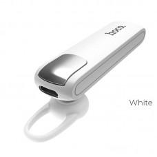 Наушники hoco Wireless headset E37 Gratified business earphone with mic - Белый
