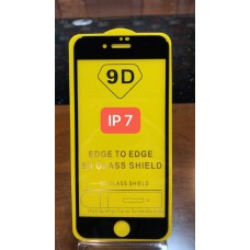 Защитное стекло для Iphone 7/8 - Черное (тех.пак)