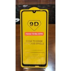 """Защитное стекло """"Full Glue"""" Huawei Honor 10 Lite 2019 Черный (тех.пак)"""