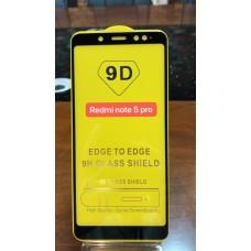 "Защитное стекло ""Full Glue"" Xiaomi Redmi Note 5 Pro - Черный (тех.пак)"