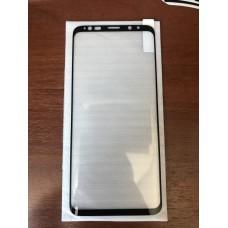 Защитное стекло для Samsung S9 (тех.пак) полный клей