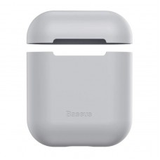 Чехол для Airpods Baseus Ultrathin Series Silica Gel Protector for Airpods 1/2 (WIAPPOD-BZ0G) - Grey