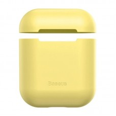 Чехол для Airpods Baseus Ultrathin Series Silica Gel Protector for Airpods 1/2 (WIAPPOD-BZ0Y) - Yellow