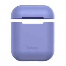 Чехол для Airpods Baseus Ultrathin Series Silica Gel Protector for Airpods 1/2 (WIAPPOD-BZ05) - Purple