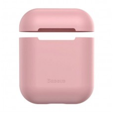 Чехол для Airpods Baseus Ultrathin Series Silica Gel Protector for Airpods 1/2 (WIAPPOD-BZ04) - Pink