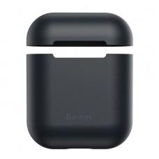 Чехол для Airpods Baseus Ultrathin Series Silica Gel Protector for Airpods 1/2 (WIAPPOD-BZ01) - Black