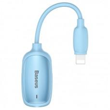 Переходник Baseus 3-in-1 iP Male to Dual iP & 3.5mm Female Adapter L51 (CALL51-03) - Blue