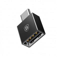 Переходник Baseus Exquisite Type-C Male to USB Female Adapter Converter (CATJQ-B01) - Черный