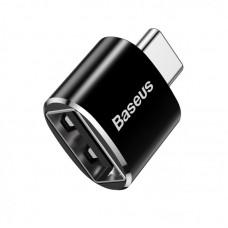 Переходник Baseus USB Female To Type-C Male Adapter Converter (CATOTG-01) - Черный