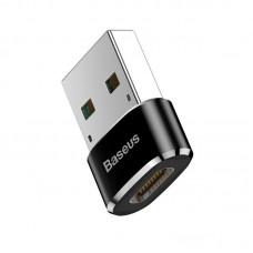 Переходник Baseus USB Male To Type-C Female Adapter Converter (CAAOTG-01) - Черный
