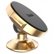 Компактный магнитный держатель Baseus Small Ears Series Magnetic Bracket (SUER-B0V) - Золотой