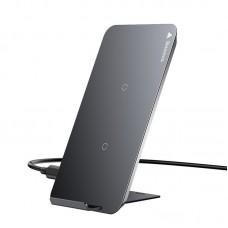 Беспроводное зарядное устройство Baseus Three-coil Wireless Charging Pad (WXHSD-01) - Черный