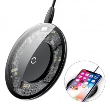 Беспроводная зарядка Baseus Simple Wireless Charger (CCALL-AJK01) - Прозрачный