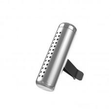Автомобильный ароматизатор Baseus Horizontal Chubby Car Air Freshener (SUXUN-PDB0S) - Sliver