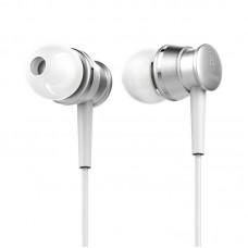 Наушники Baseus Lark Series Wired Earphones (WEBASEEJ-LA0S) - Серебристый