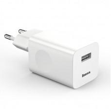 Сетевое зарядное устройство Baseus Charging Quick Charger (EU) (CCALL-BX02) - White