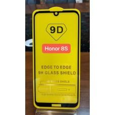 """Защитное стекло """"Full Glue""""Huawei Honor 8S - Черный (тех.пак)"""